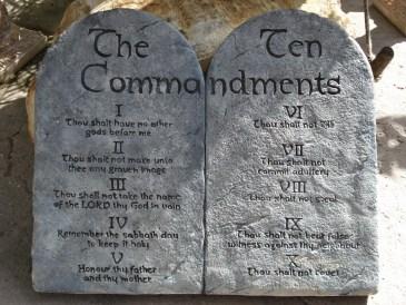 ten commandments 3